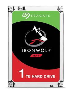 SEAGATE IronWolf HDD 3.5'' 1TB SATA3 5900RPM 64MB (ST1000VN002)