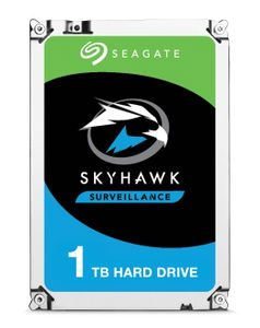 SEAGATE Surveillance Skyhawk 7200 1To HDD 7200rpm SATA serial ATA 6Gb/s 64MB cache 3.5p 24x7 long-term usage BLK (ST1000VX005)