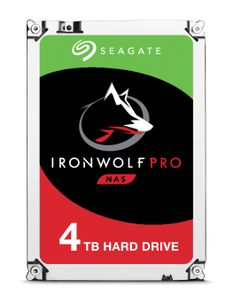 SEAGATE IRONWOLF PRO 4TB SATA 3.5IN 128MB ENTERPRISE NAS INT (ST4000NE0025)