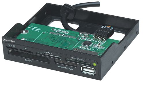MANHATTAN Multi-Card Reader with USB 2.0 port (100915)