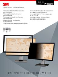 """3M Privacy filter framed lightweight 20"""""""" to 23"""""""" widescreen (7000059523)"""