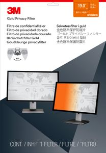 "3M GPF19.0W Gold Privacy Filter Skjerm Filter for laptop og desktop monitor (wide) 19,0""W (GPF19.0W)"