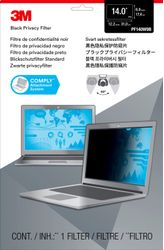 3M Privacy filter for laptop 14,0'' widescreen (7000014517)