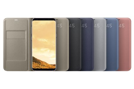 SAMSUNG LED VIEW COVER (GOLD GALAXY S8 PLUS) (EF-NG955PFEGWW)