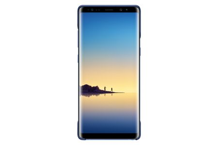 SAMSUNG two pcs. Silicone Cover for Note 8 deep blue (EF-MN950CNEGWW)