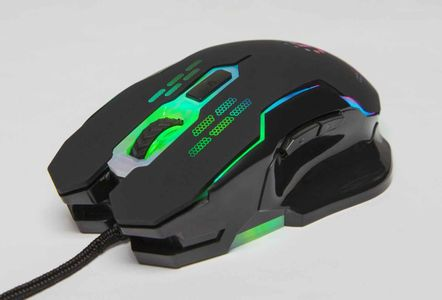 MANHATTAN Wired Optical Gaming Mouse Blk (179164)