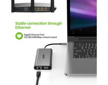 ACER 10in1 Type C dongle 3xUSB 3.0 1xHDMI 1xVGA 1xTypeC 1xSD 1xTF 1x1000M Ethernet 1xAudio (HP.DSCAB.002)