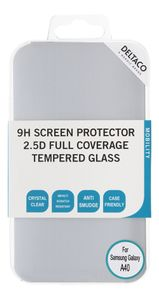DELTACO screen protector , Galaxy A40, 2.5D full coverage glass (SCRN-A40)