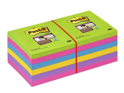 POST-IT Post-it Rainbow 76x76 12/fp (1630046)