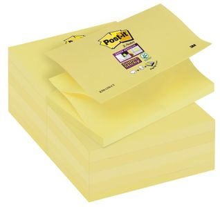 POST-IT Post-it Z-block 127x76 gul12/f (7000048168)