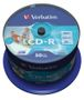 VERBATIM CD-R 700MB Wide-Printable 52x speed 50 pk. spindel.