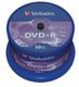 VERBATIM DVD+R 4,7GB Branded Matt Silver 16xSpeed *50-pack* CakeBox