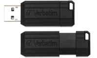 VERBATIM USB Flash Drive 64GB Hi-Speed Store N Go Pin Stripe (49065)