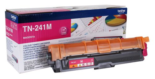 BROTHER TN-241M TONER CARTRIDGE MAGENTA F. HL-3140/ 3150/ 3170 F.1400 P SUPL (TN241M)