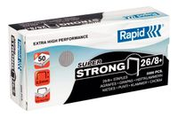 RAPID staples Super Strong 26/8 Box of 5000 (24862200)