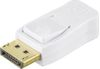 DELTACO - DisplayPort adapter - DisplayPort (han) - Mini DisplayPort (hun) - hvid (DP-MDP-K)