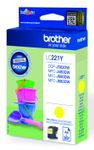 BROTHER LC221Y ink yellow 260 pages (LC221Y)