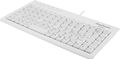 DELTACO Mini keyboard, Nordic layout, USB, 1,5m. White