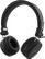 STREETZ bluetooth on-ear med mikrofon, v4.1 +EDR, svart