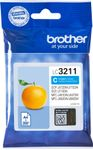 BROTHER Ink LC-3211C Cyan 200S, DCP-J77x, MFC-J89x (LC3211C)