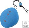 STREETZ bluetooth speaker, fabric, blue