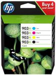 HP No903XL High Yield C/M/Y/K Ink Cartridge (3HZ51AE)
