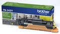 BROTHER TN243Y Toner, Yellow, 1000 Sider