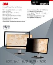 """3M Privacy filter framed lightweight for LCD 19"""""""" (98-0440-4461-2)"""
