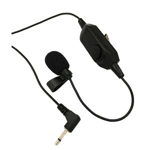 OKAYO Lapel Microphone with Mute Button (LM-72AM)