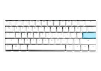 DUCKY - One 2 Mini Pure White Cherry Red RGB (DKON1861ST-RFIPDWWT1)