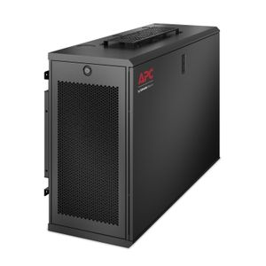 APC NetShelter WX 6U Low-Profile Wallmount Enclosure 120V Fans (AR106V)