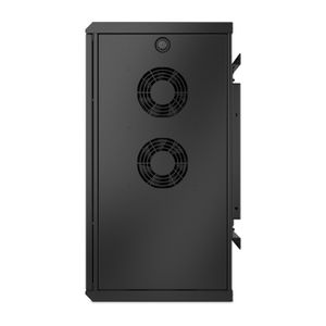 APC NetShelter WX 6U Low-Profile Wallmount Enclosure 230V Fans (AR106VI)
