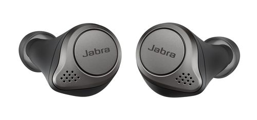 JABRA Elite 75t Wireless Stereo BT Headset, Titanium Blk (100-99090000-60)
